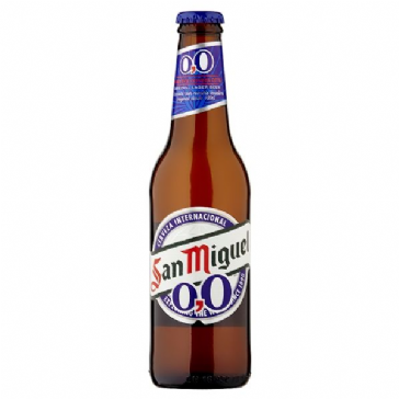 San Miguel Alcohol Free Lager Beer 4 x 330ml